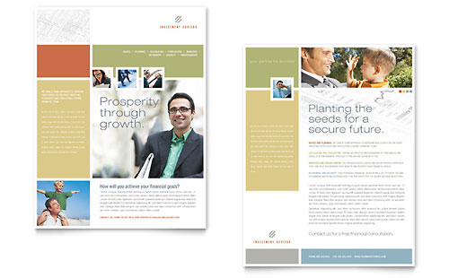 Financial Planning  Sales Sheet Templates  Financial Services