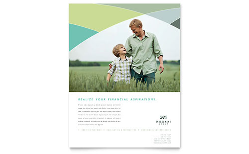 Financial Advisor Flyer