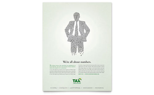 Accounting & Tax Services Flyer