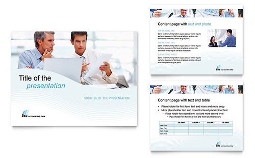 Accounting Firm Presentation PowerPoint Template