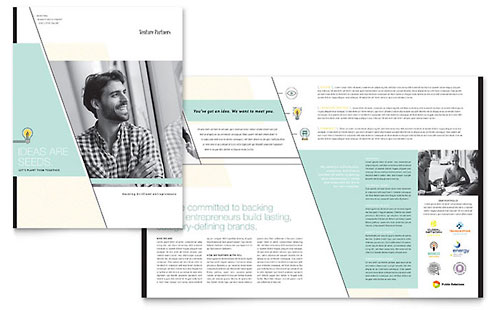 Venture Capital Firm Brochure Design Template
