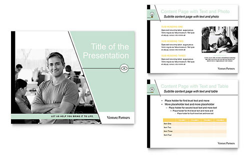 Venture capital firm powerpoint presentation template design toneelgroepblik Images