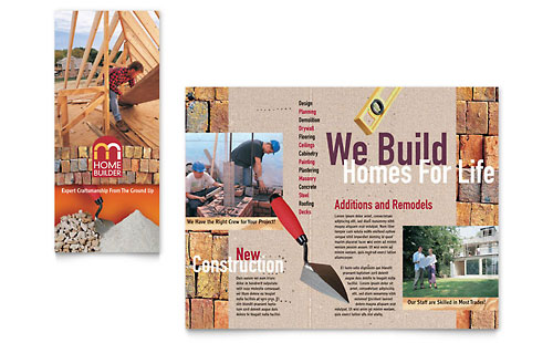 Home Builder & Contractor Brochure