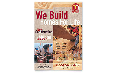Home Builder & Contractor Flyer