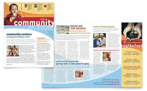 community non profit newsletter