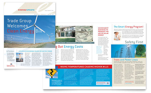 Utility & Energy Company Newsletter