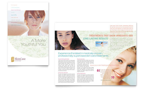 Skin Care Clinic Brochure