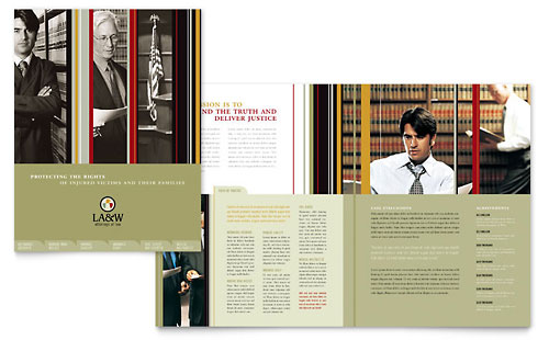 Lawyer & Law Firm Brochure