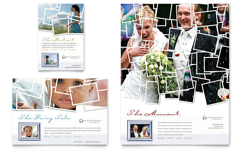 Photographer Flyer & Ad Template Design