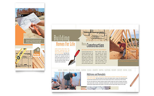 Home Building Carpentry Brochure