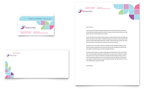 Medical Spa Business Card & Letterhead