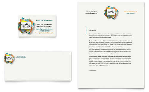 Writer's Workshop Business Card & Letterhead