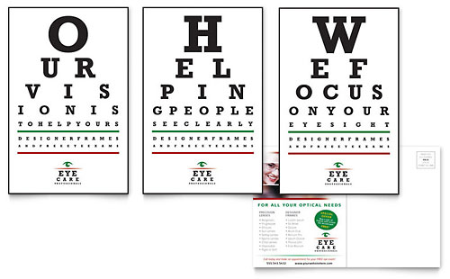 Optometrist & Optician Postcard