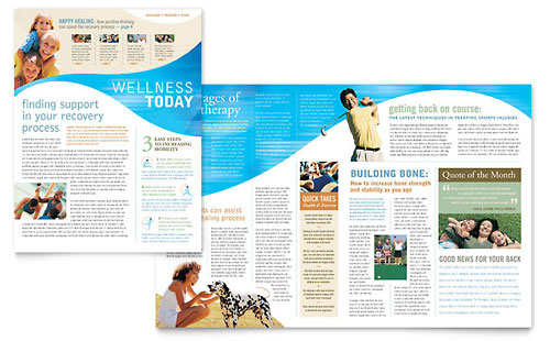 Personal Training Newsletters | Templates & Graphic Designs