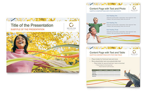 Health Insurance Company PowerPoint Presentation Template Design