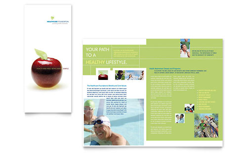 Healthcare Management Tri Fold Brochure