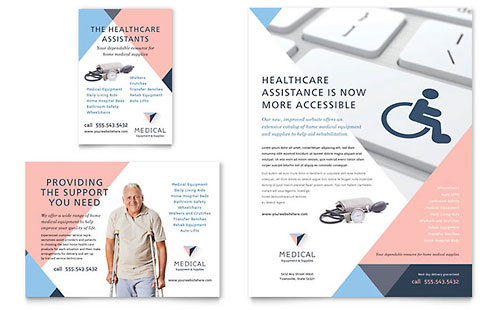 Disability Medical Equipment Flyer & Ad Template
