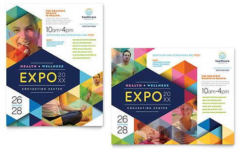 Health Fair Poster Template