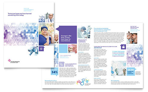 Medical  Health Care Brochures  Templates  Designs