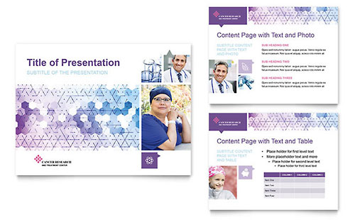 Cancer Treatment Presentation PowerPoint Template