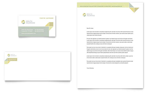 Health Insurance Letterhead Template