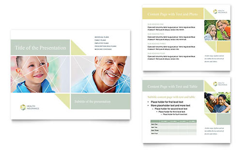 Health Insurance Presentation PowerPoint Template
