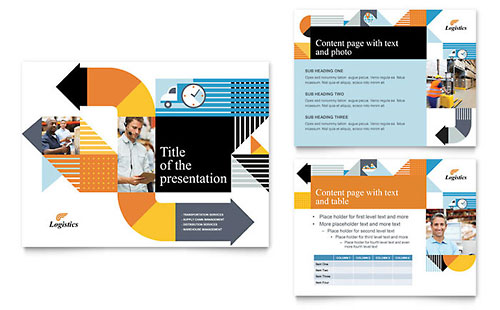 Point Presentation Template Insurance Consulting Microsoft