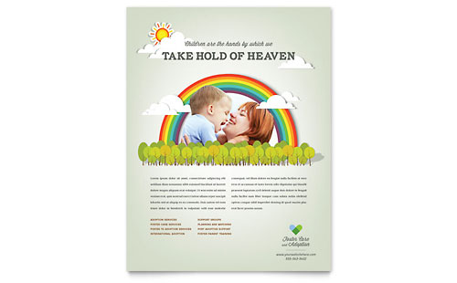 Child Care Flyers  Templates  Designs