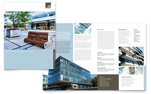 Architect Brochure Template