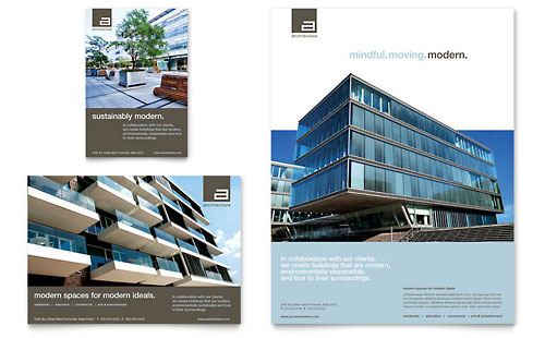 Architect Flyer & Ad