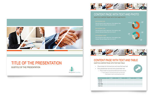 Management consulting powerpoint presentation template design toneelgroepblik Gallery