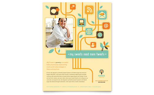 Business Services Flyer Template Design