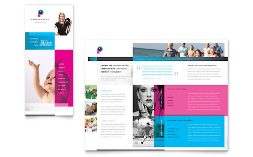 Photography Business Brochure Template Design