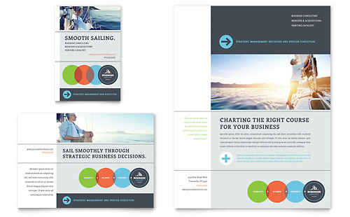 Business Analyst Flyer & Ad Template