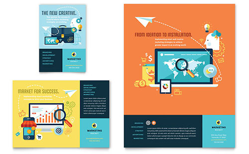 Advertising Company Flyer & Ad Template