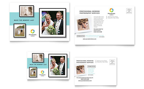 Wedding Event Planning Postcards Templates Design Examples - Event postcard template