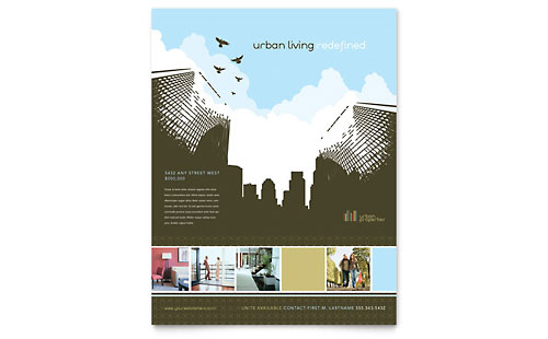 Urban Real Estate Flyer