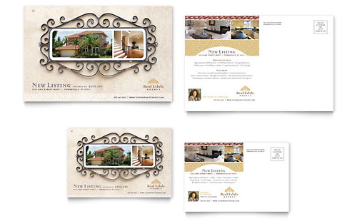 Luxury Real Estate Postcard