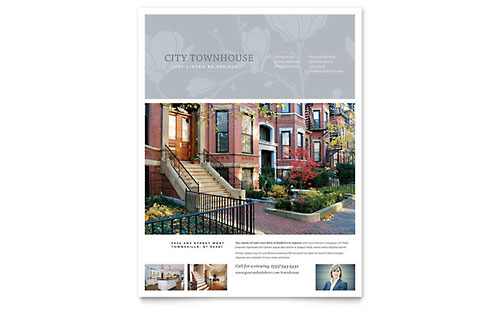 Townhouse Flyer