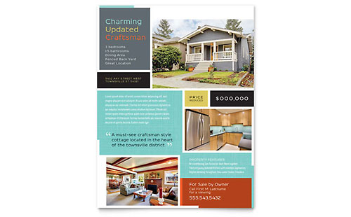 Craftsman Home Flyer