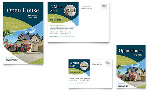 Real Estate Postcard Templates & Examples