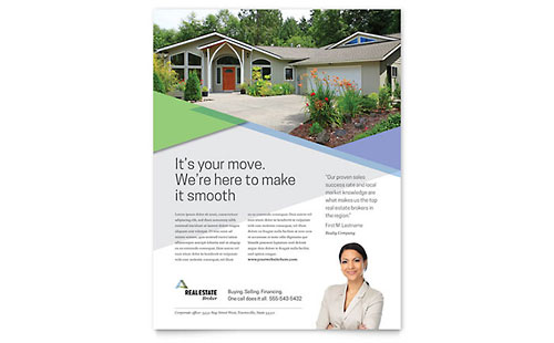 Realtor Flyer Template Design