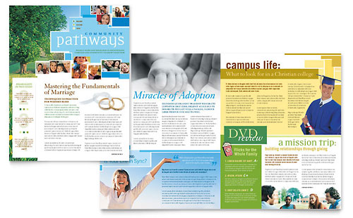 Religious & Church Newsletter Template