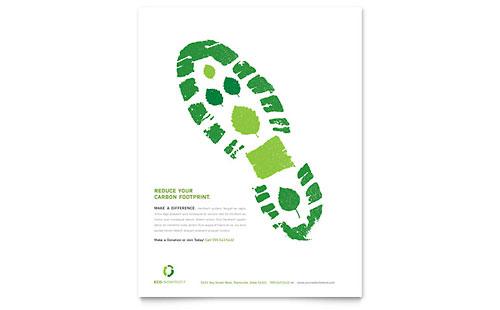 environmental flyers templates