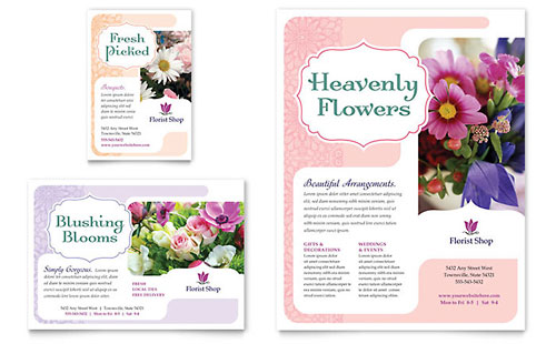 Florist Flyer & Ad Template