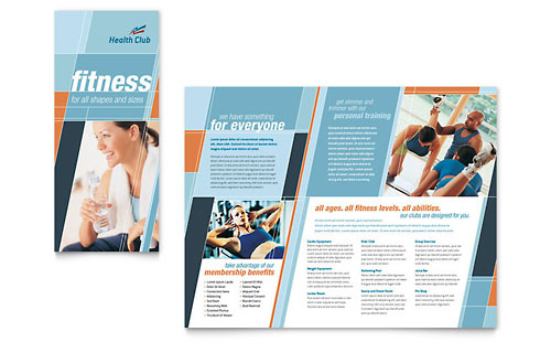 Health & Fitness Gym Brochure