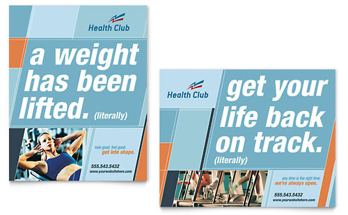 Health & Fitness Gym Poster