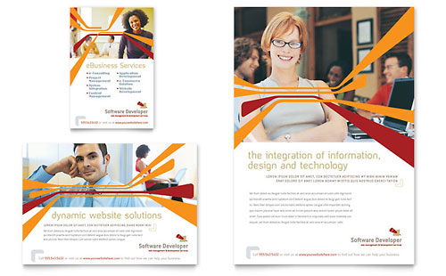 Software Developer Flyer & Ad