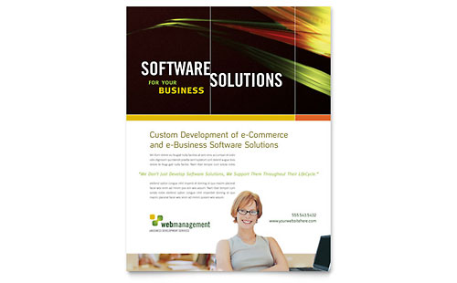 Internet Software Flyer