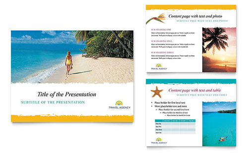 Travel Agency Presentation PowerPoint Template